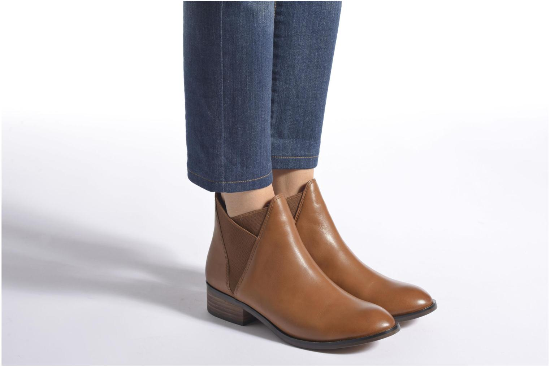 Bottines et boots Aldo SCOTCH Noir vue bas / vue portée sac