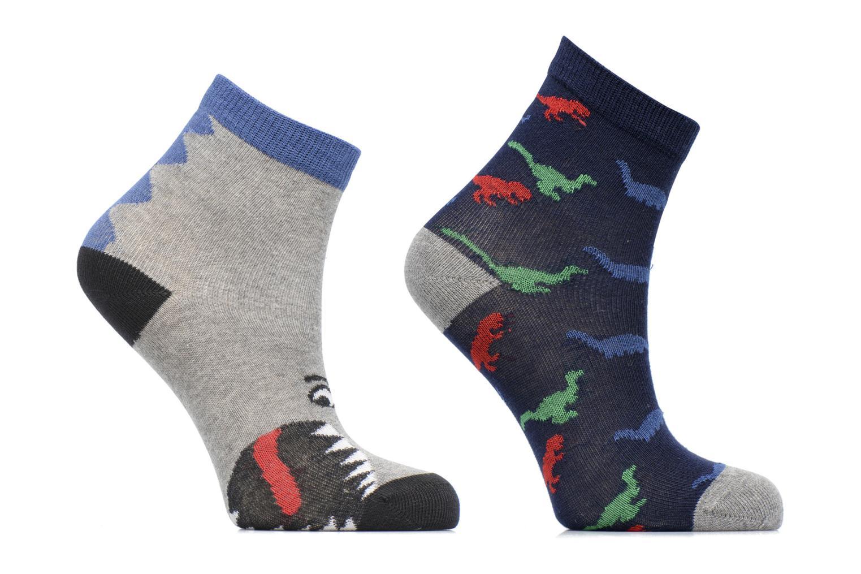 Calze e collant Sarenza Wear Chaussettes dinosaures Pack de 2 enfant coton Azzurro vedi dettaglio/paio