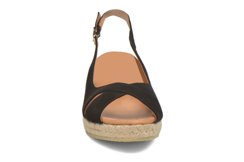 Sandales et nu-pieds Maypol Mungo Noir vue portées chaussures