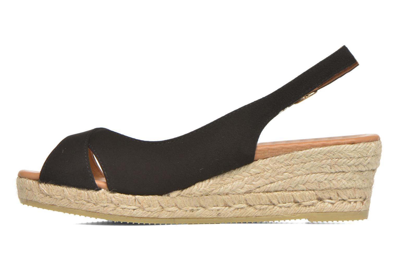 Sandales et nu-pieds Maypol Mungo Noir vue face