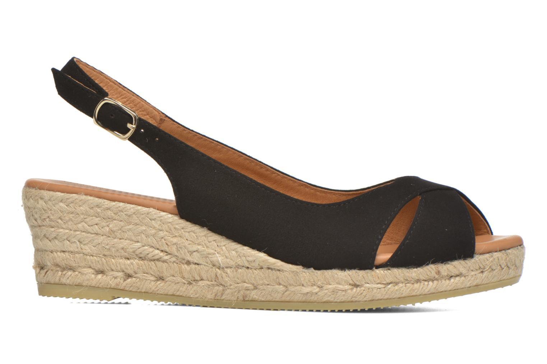 Sandales et nu-pieds Maypol Mungo Noir vue derrière