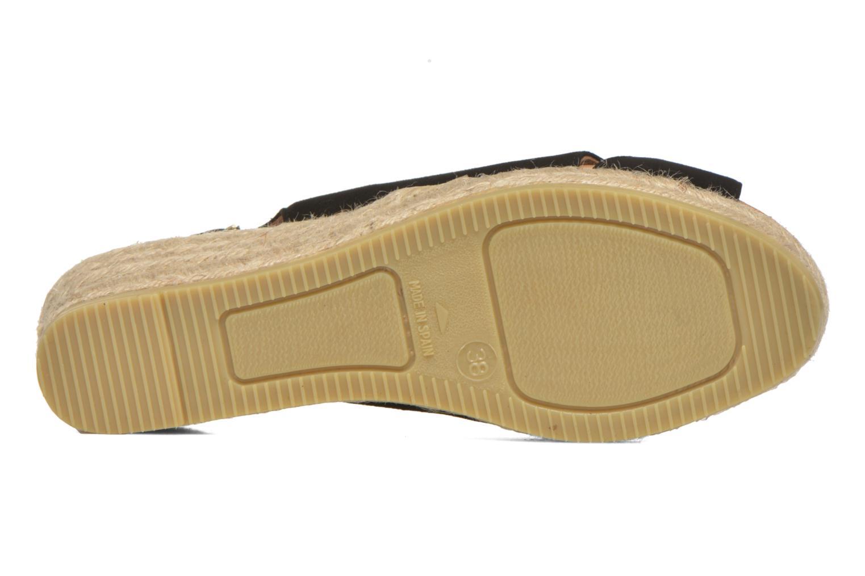 Sandales et nu-pieds Maypol Mungo Noir vue haut