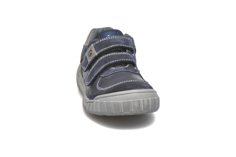Baskets Naturino Antony Bleu vue portées chaussures