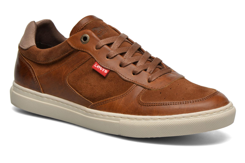 Levi´s Footwear PERRIS OXFORD Blau Sneaker Levi's Wiki Verkauf Online 08MJOx2K