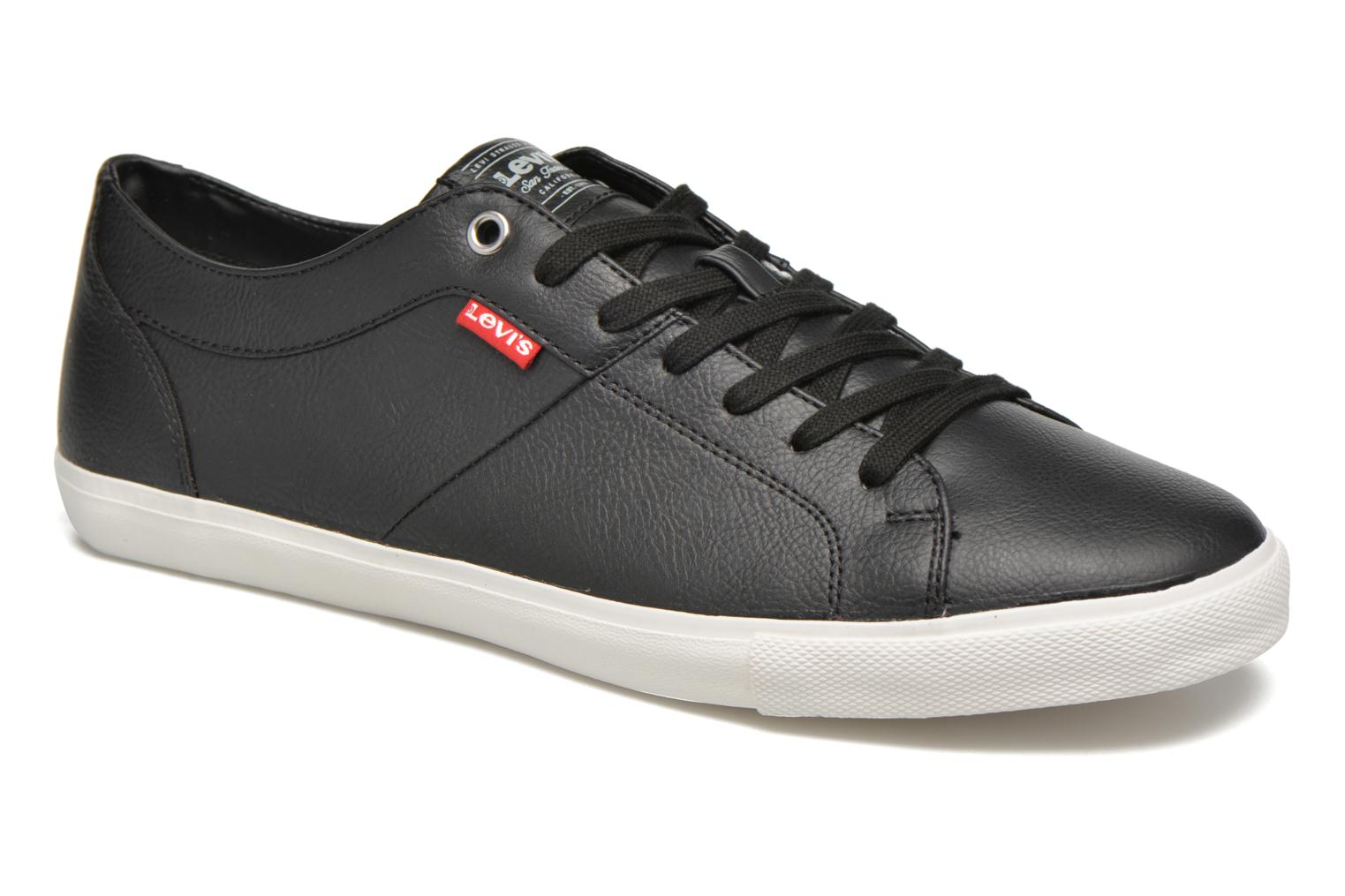 Trainers Levi's Woods Black detailed view/ Pair view