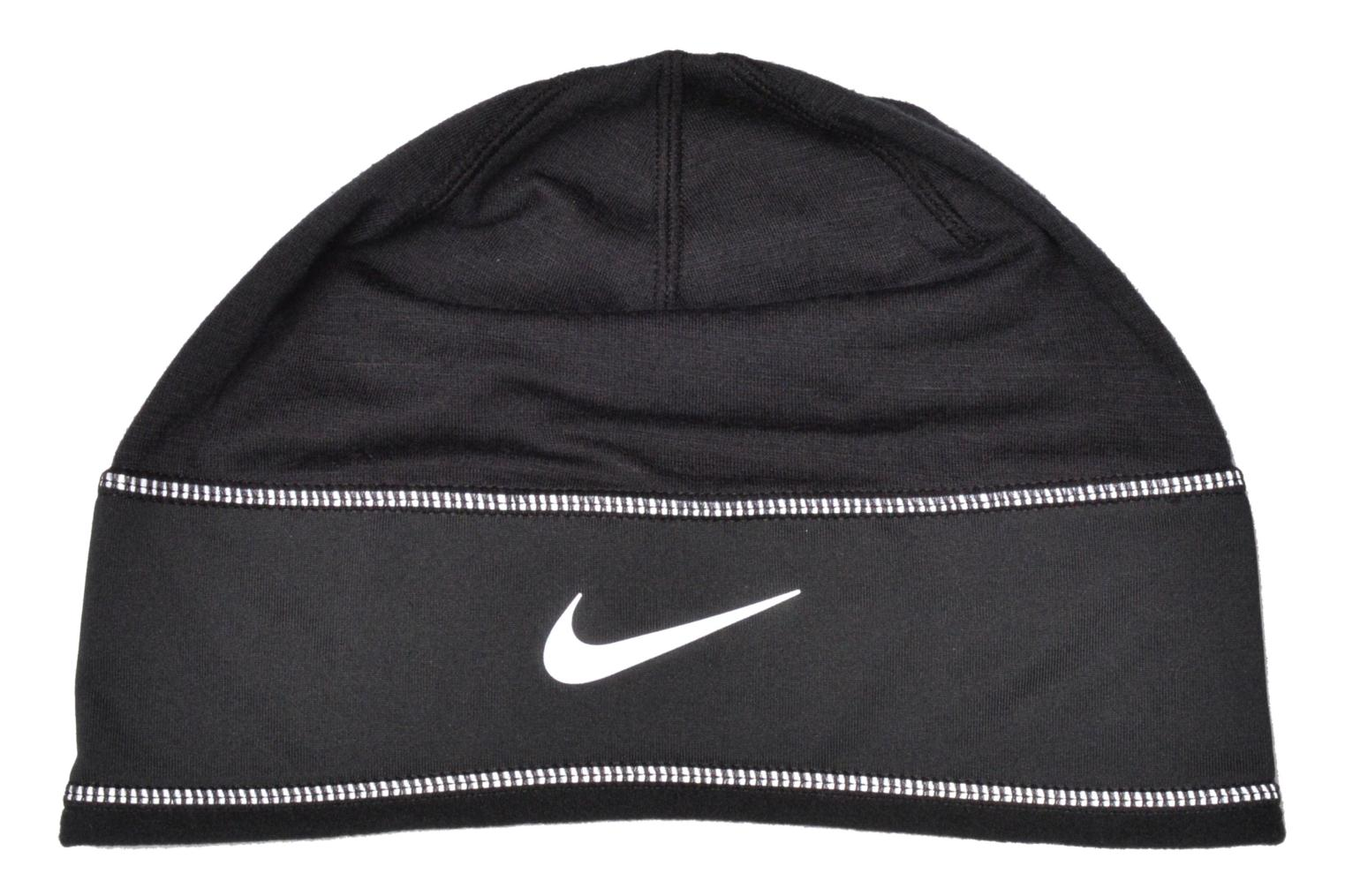 Running knit hat Bonnet Black