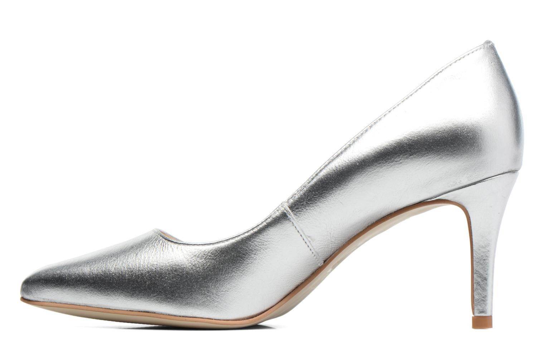 Zapatos de tacón Georgia Rose Gatou Plateado vista de frente