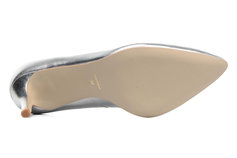 Zapatos de tacón Georgia Rose Gatou Plateado vista de arriba