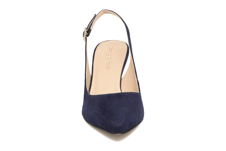 Escarpins Georgia Rose Gatouba Bleu vue portées chaussures