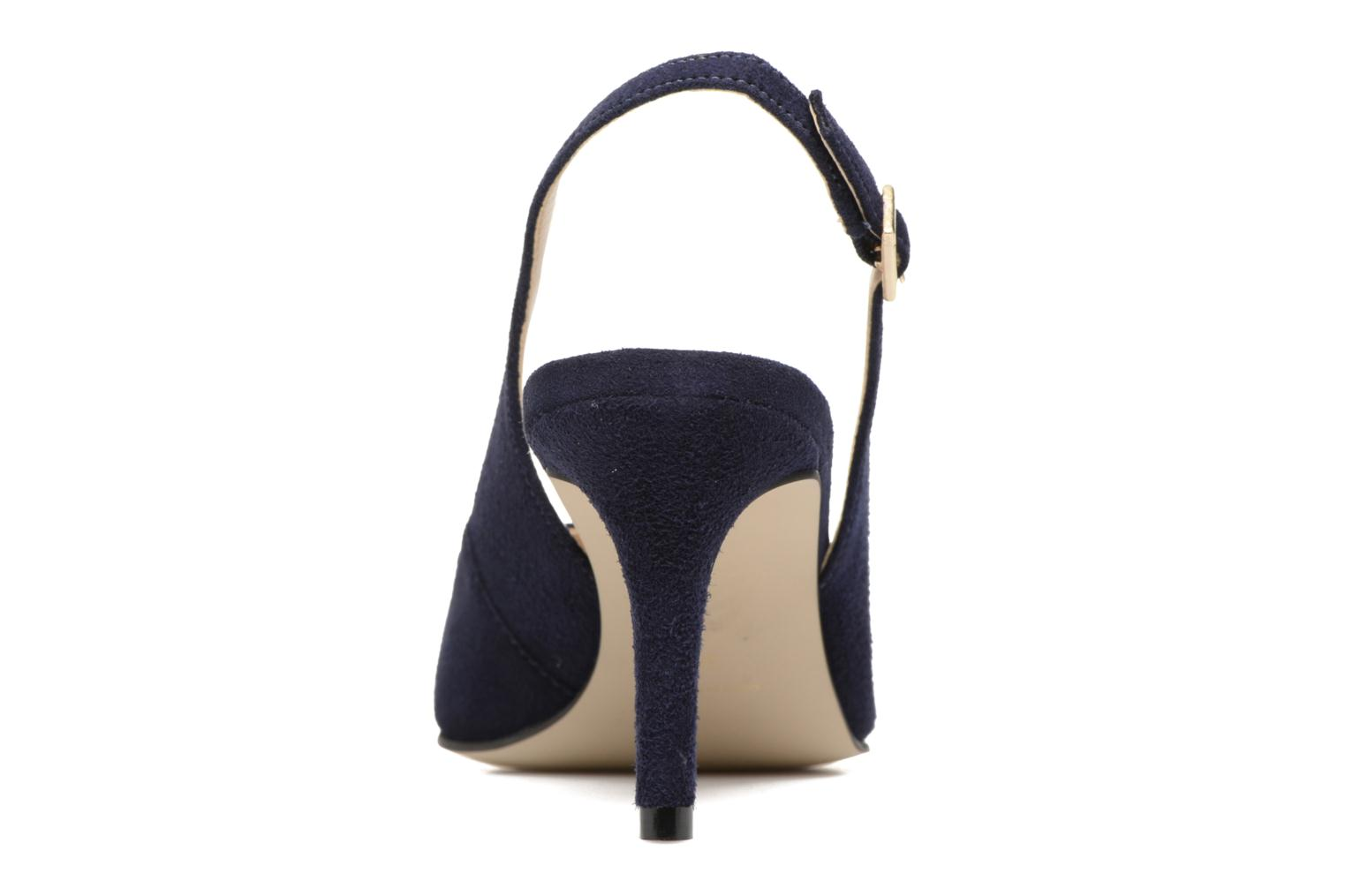 High heels Georgia Rose Gatouba Blue view from the right
