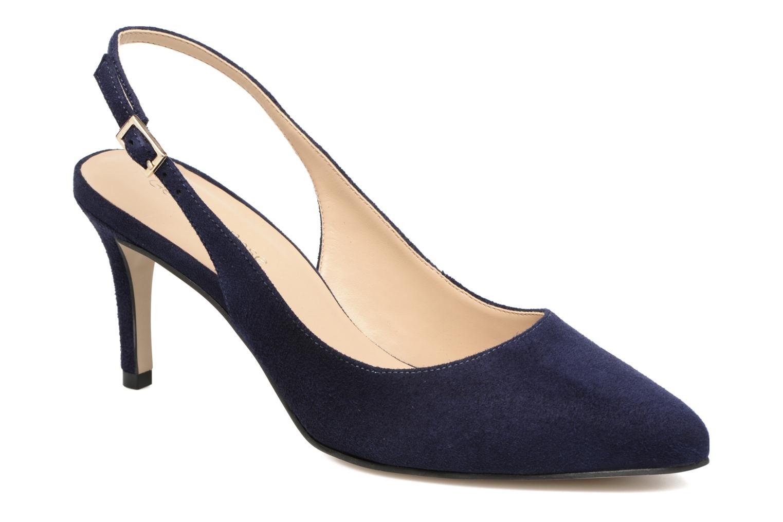 High heels Georgia Rose Gatouba Blue detailed view/ Pair view