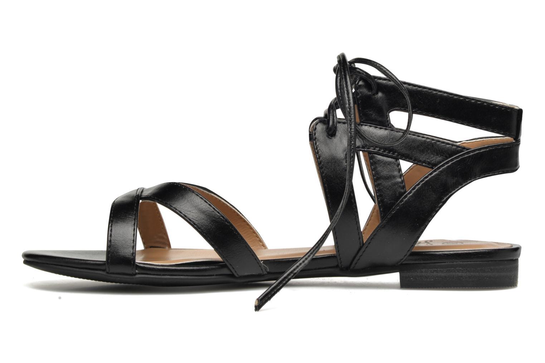 Sandalen I Love Shoes FELICE schwarz ansicht von vorne