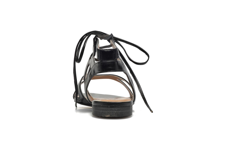 Sandalen I Love Shoes FELICE schwarz ansicht von rechts