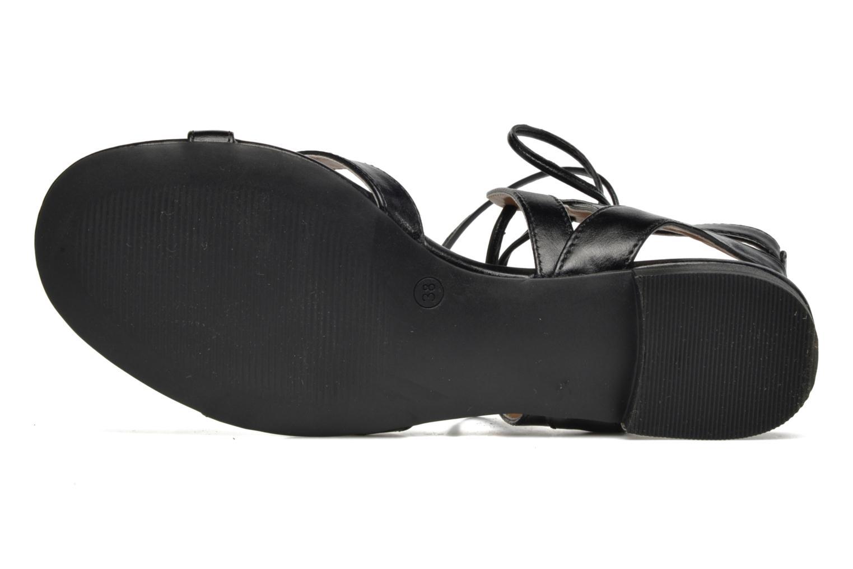 Sandalias I Love Shoes FELICE Negro vista de arriba