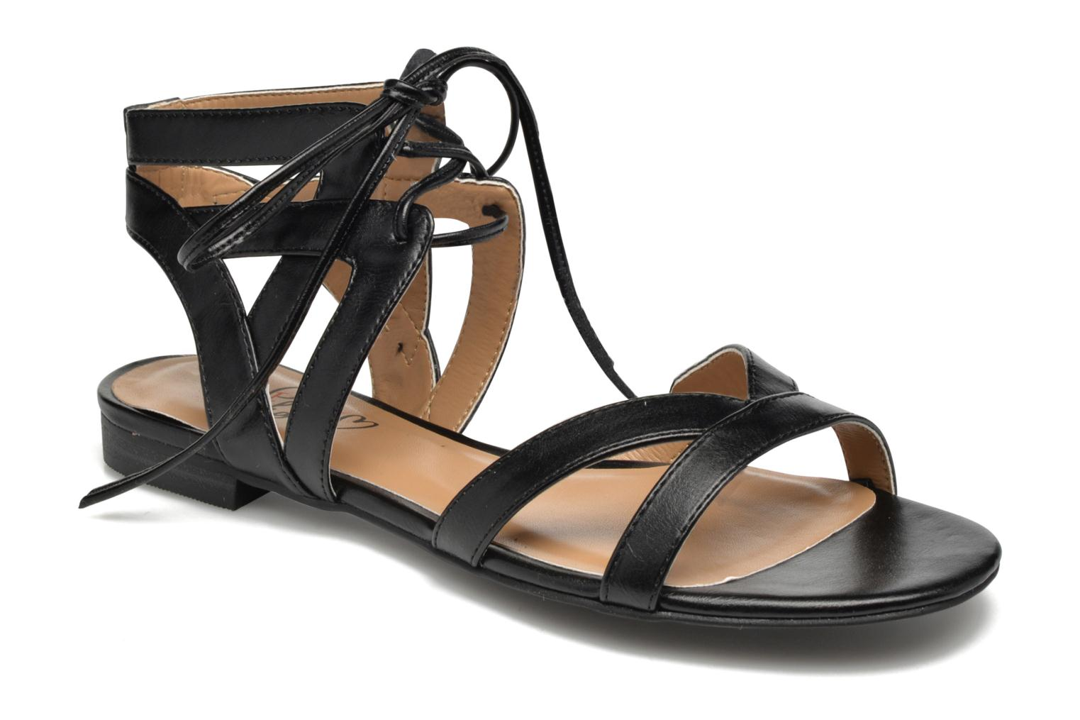 Sandalen I Love Shoes FELICE Zwart detail