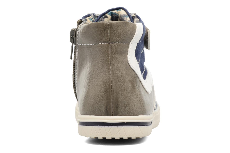 Deportivas I Love Shoes FELIX Gris vista lateral derecha