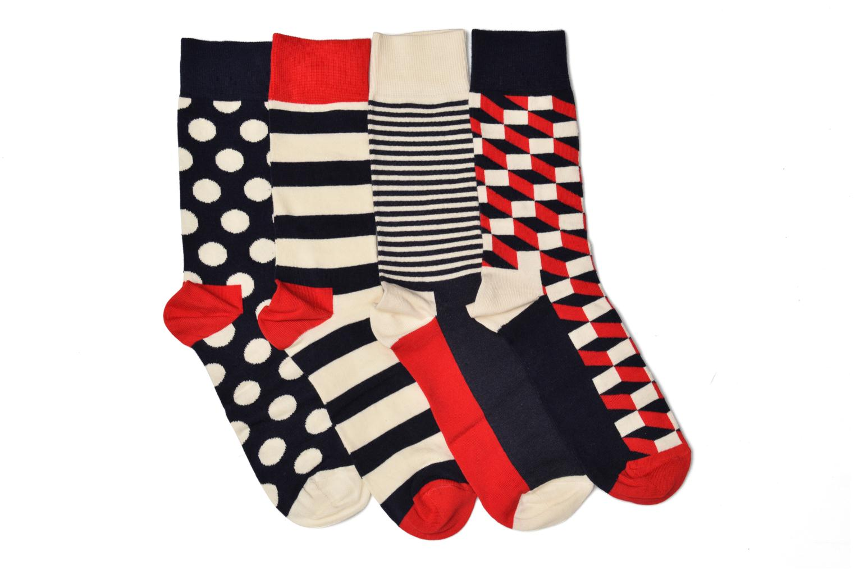 Chaussettes et collants Happy Socks Big Dot Gift Box Multicolore vue derrière