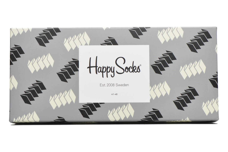 Chaussettes et collants Happy Socks Optic Gift Box Noir vue gauche
