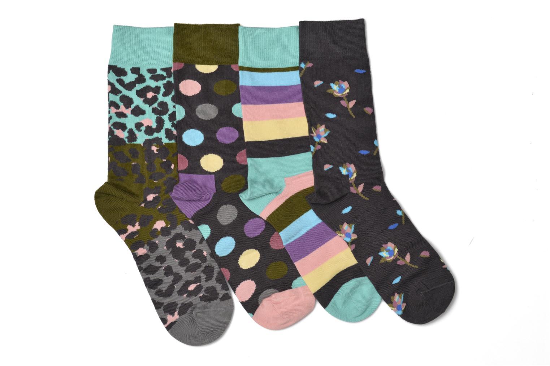 Chaussettes et collants Happy Socks Stripe Gift Box Multicolore vue derrière