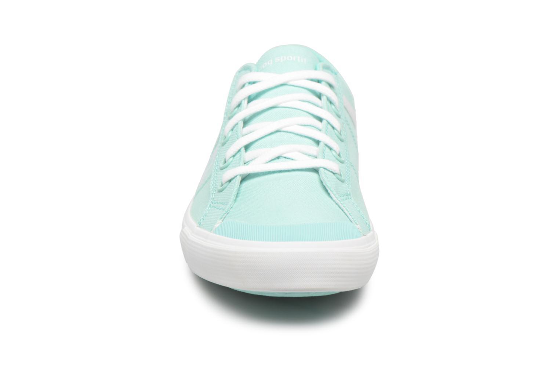 Baskets Le Coq Sportif Saint Gaetan GS Bleu vue portées chaussures