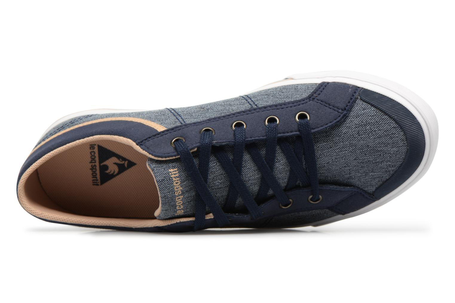 Trainers Le Coq Sportif Saint Gaetan GS Blue view from the left