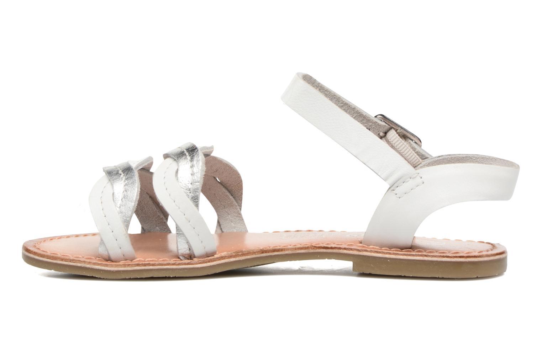 Sandalen I Love Shoes KEWAVY Leather weiß ansicht von vorne