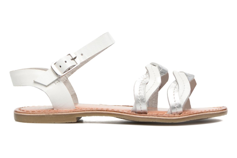Sandalen I Love Shoes KEWAVY Leather weiß ansicht von hinten