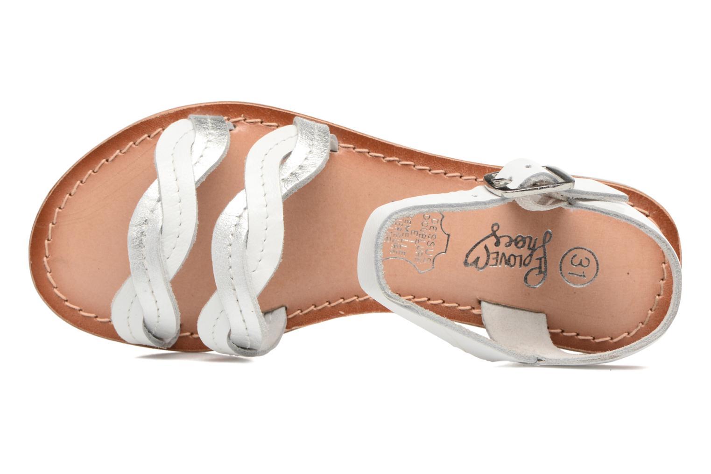 Sandalen I Love Shoes KEWAVY Leather weiß ansicht von links