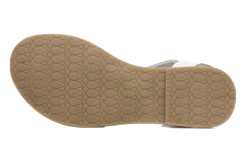 Sandalen I Love Shoes KEWAVY Leather weiß ansicht von oben