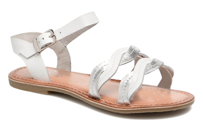 Sandalen I Love Shoes KEWAVY Leather weiß detaillierte ansicht/modell