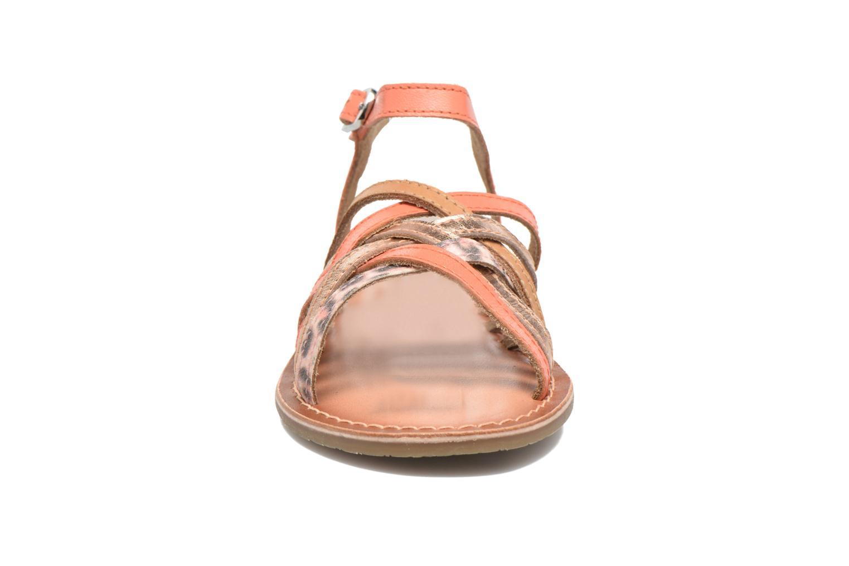 Sandalen I Love Shoes KEMULT Leather rosa schuhe getragen