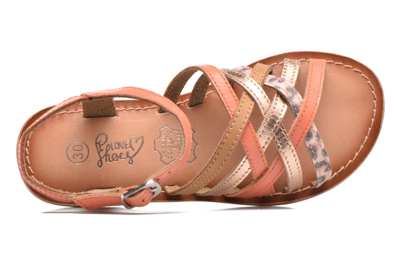 Sandalen I Love Shoes KEMULT Leather rosa ansicht von links
