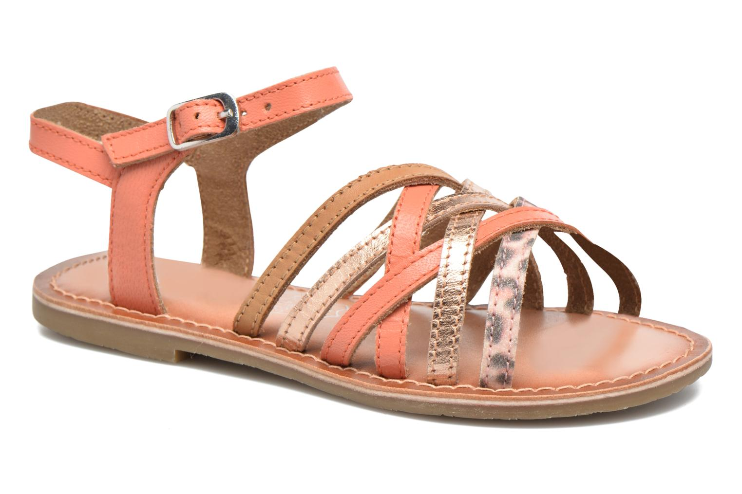 KEMULT Leather coral & pink gold