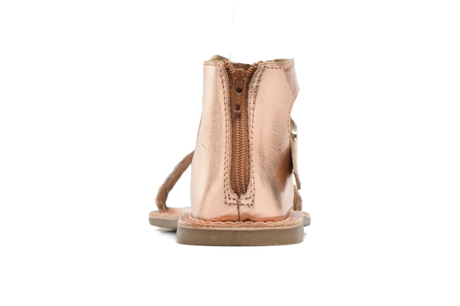 KETRUSI Leather PINK GOLD & tan