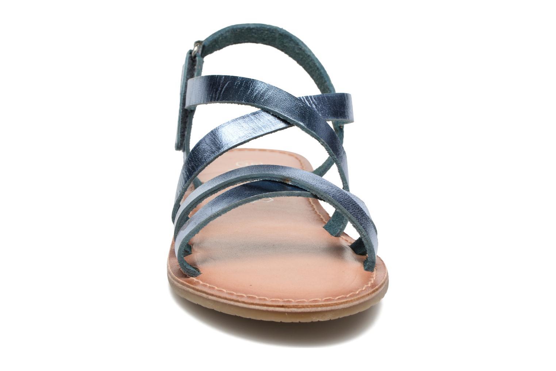 Sandalias I Love Shoes KEINU Leather Azul vista del modelo