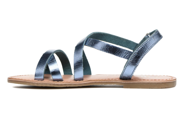 Sandalias I Love Shoes KEINU Leather Azul vista de frente