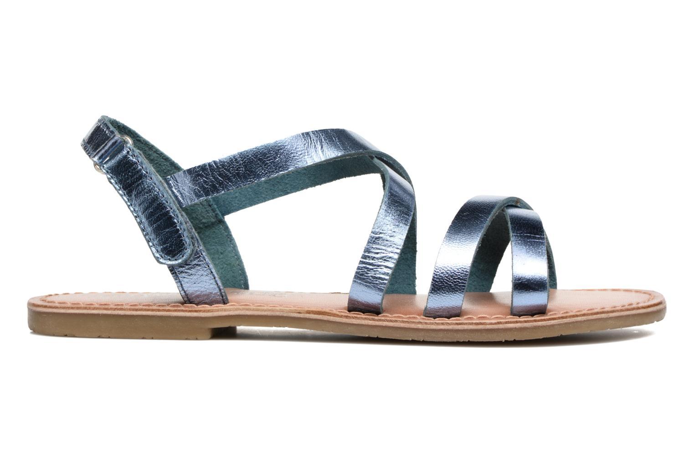 Sandalen I Love Shoes KEINU Leather blau ansicht von hinten