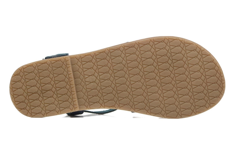 Sandalen I Love Shoes KEINU Leather blau ansicht von oben