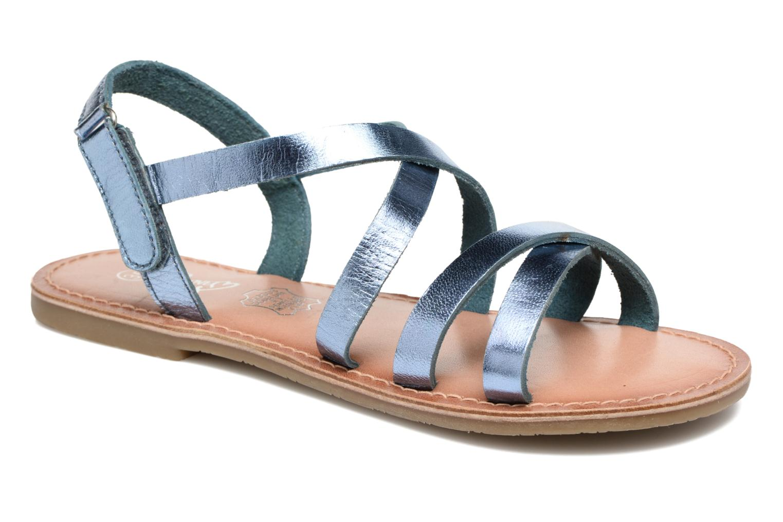 Sandalias I Love Shoes KEINU Leather Azul vista de detalle / par