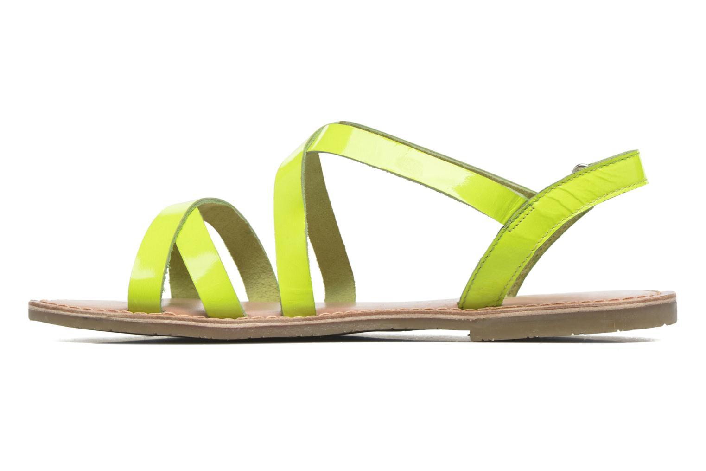 Sandalen I Love Shoes KEINU Leather Geel voorkant