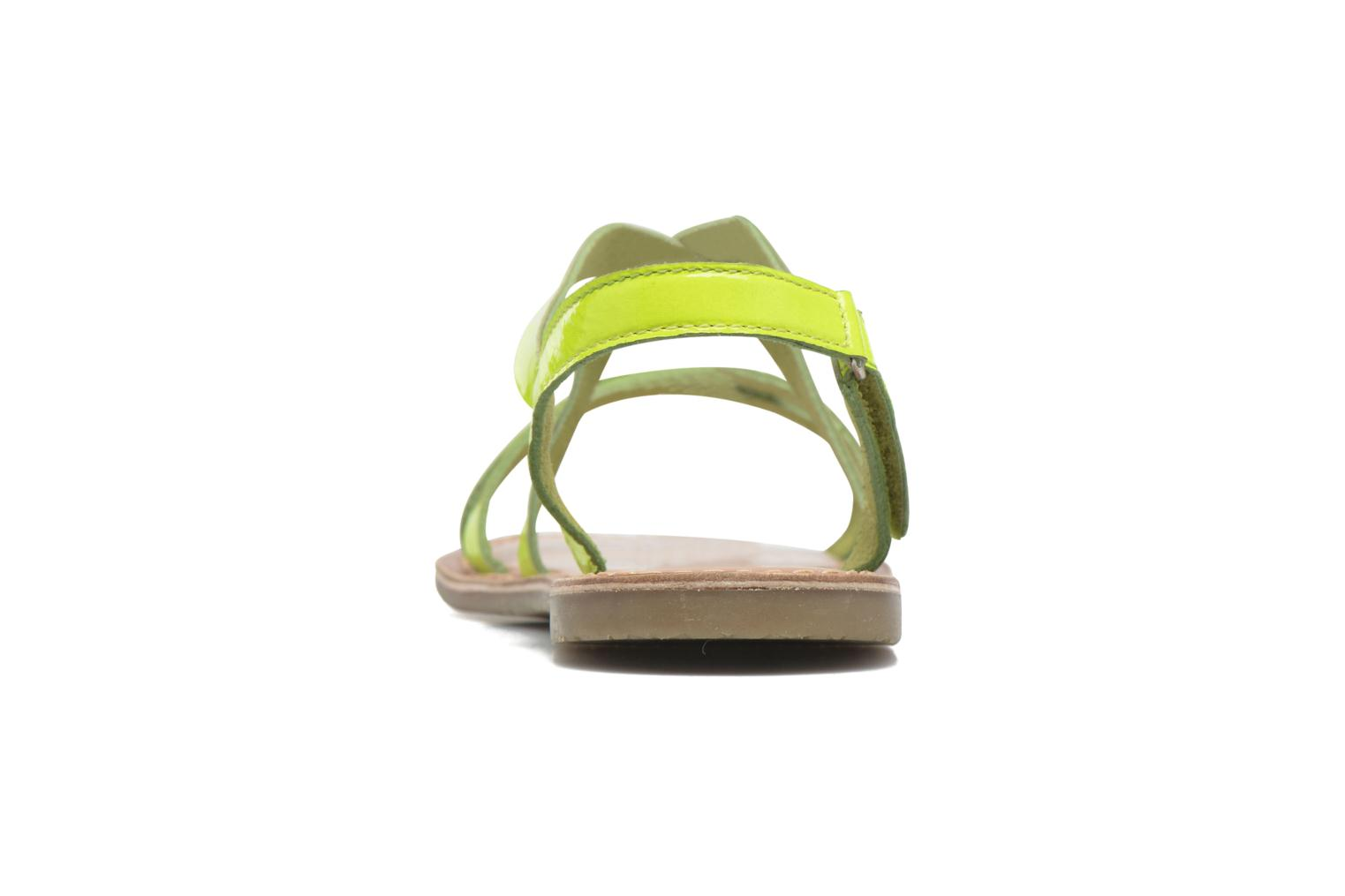 Sandalias I Love Shoes KEINU Leather Amarillo vista lateral derecha