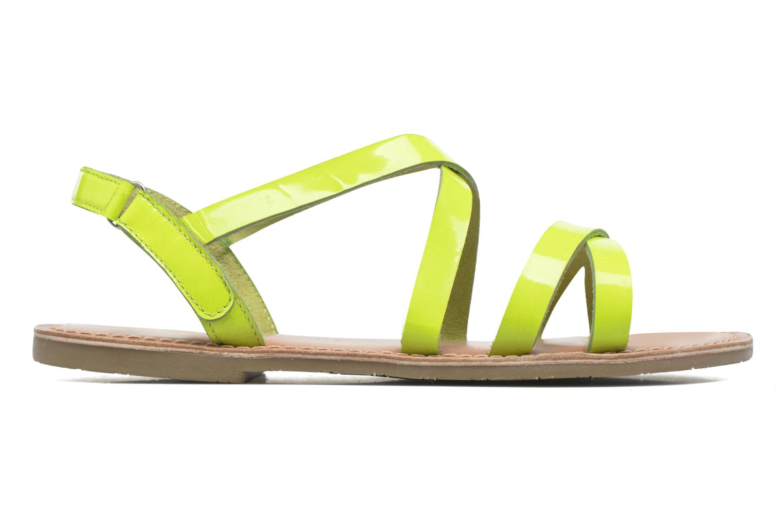 Sandalen I Love Shoes KEINU Leather Geel achterkant