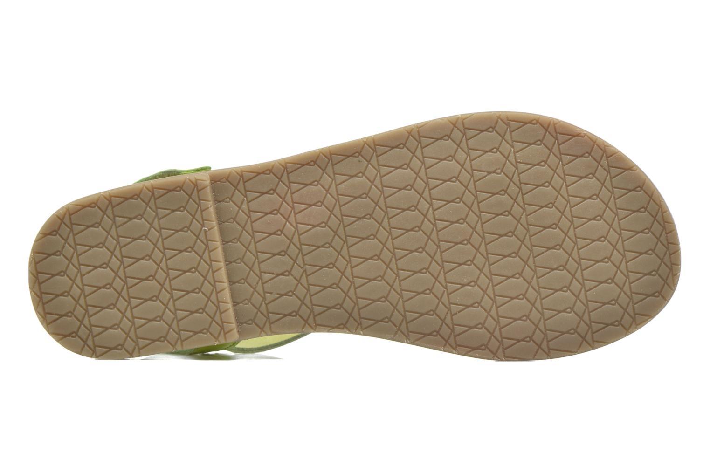 Sandalen I Love Shoes KEINU Leather Geel boven