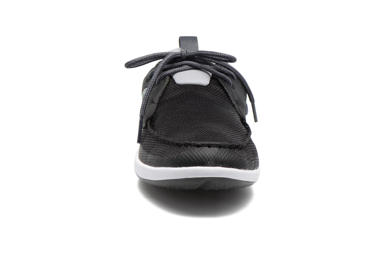 Baskets Lacoste L.Andsailing 117 1 Noir vue portées chaussures
