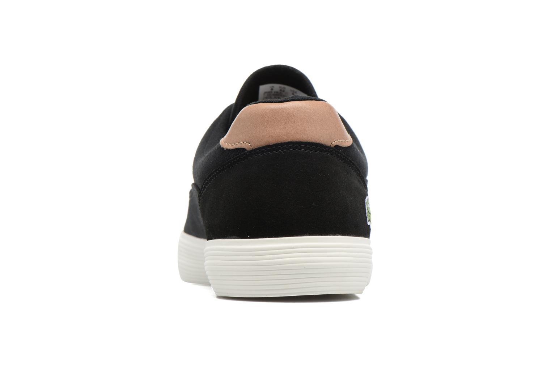 Baskets Lacoste Jouer 316 1 Noir vue droite