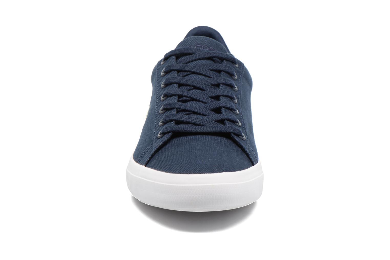 Sneaker Lacoste Lerond BL 2 blau schuhe getragen