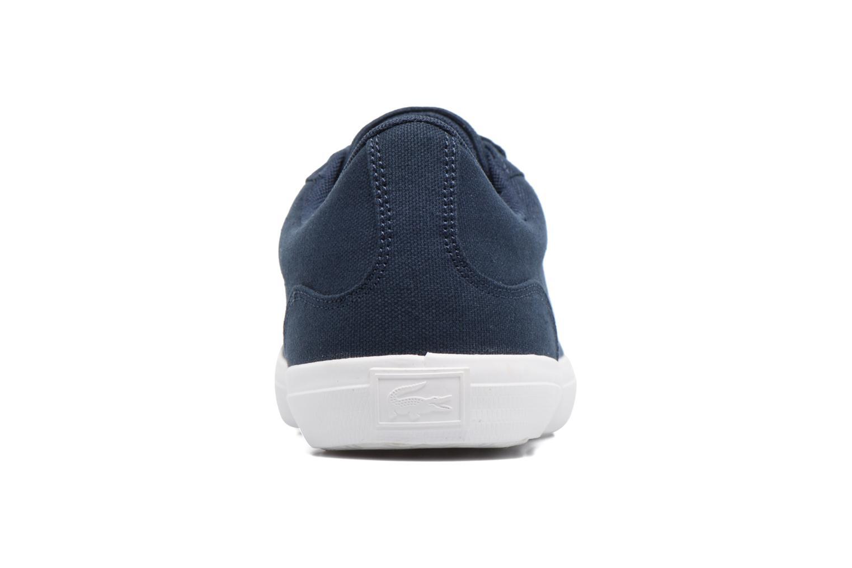 Sneaker Lacoste Lerond BL 2 blau ansicht von rechts