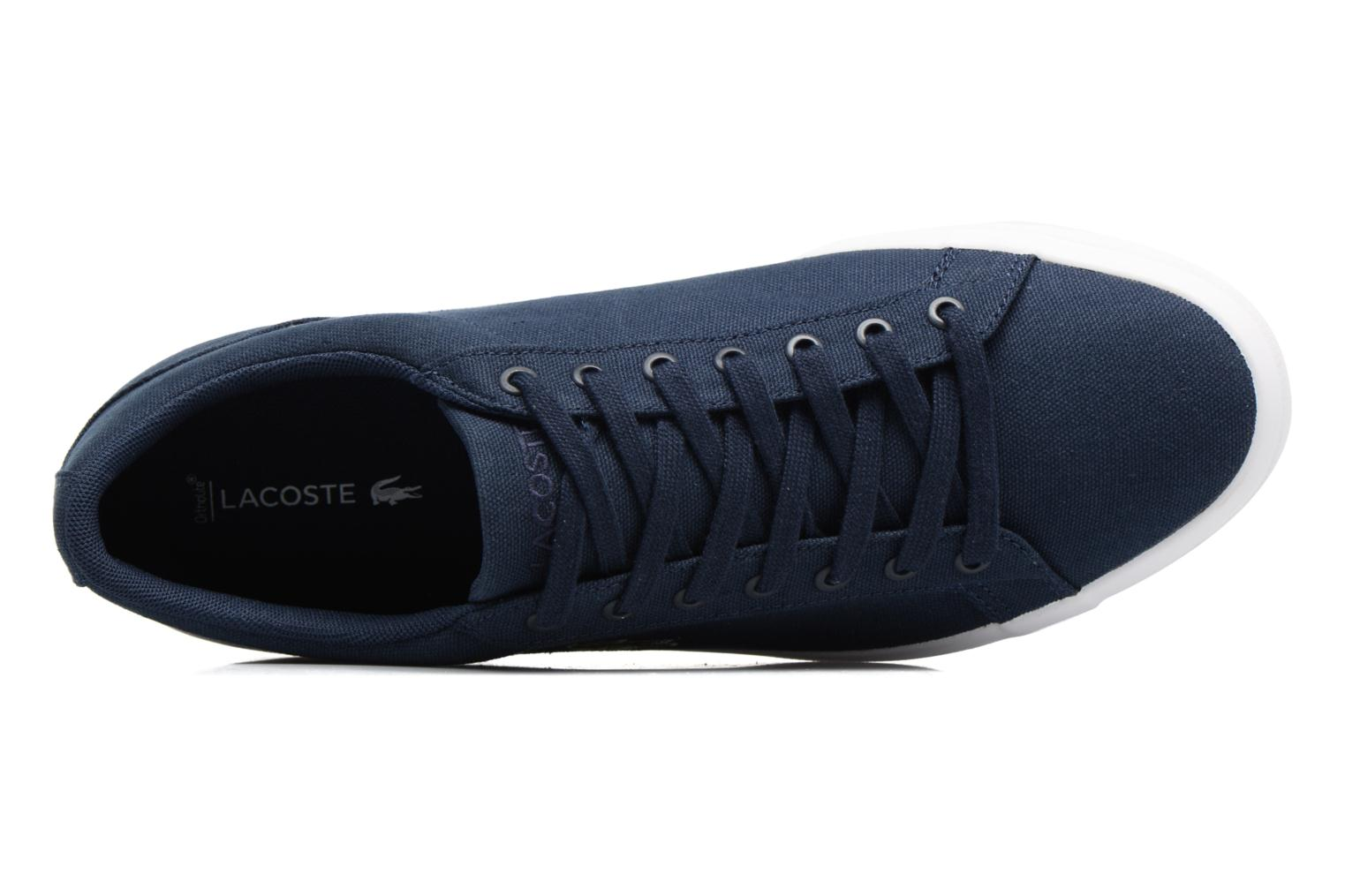 Trainers Lacoste Lerond BL 2 Blue view from the left