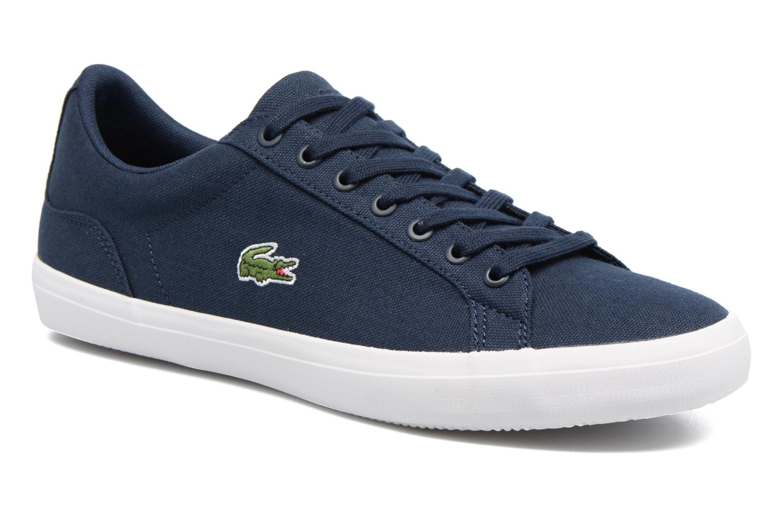 Trainers Lacoste Lerond BL 2 Blue detailed view/ Pair view