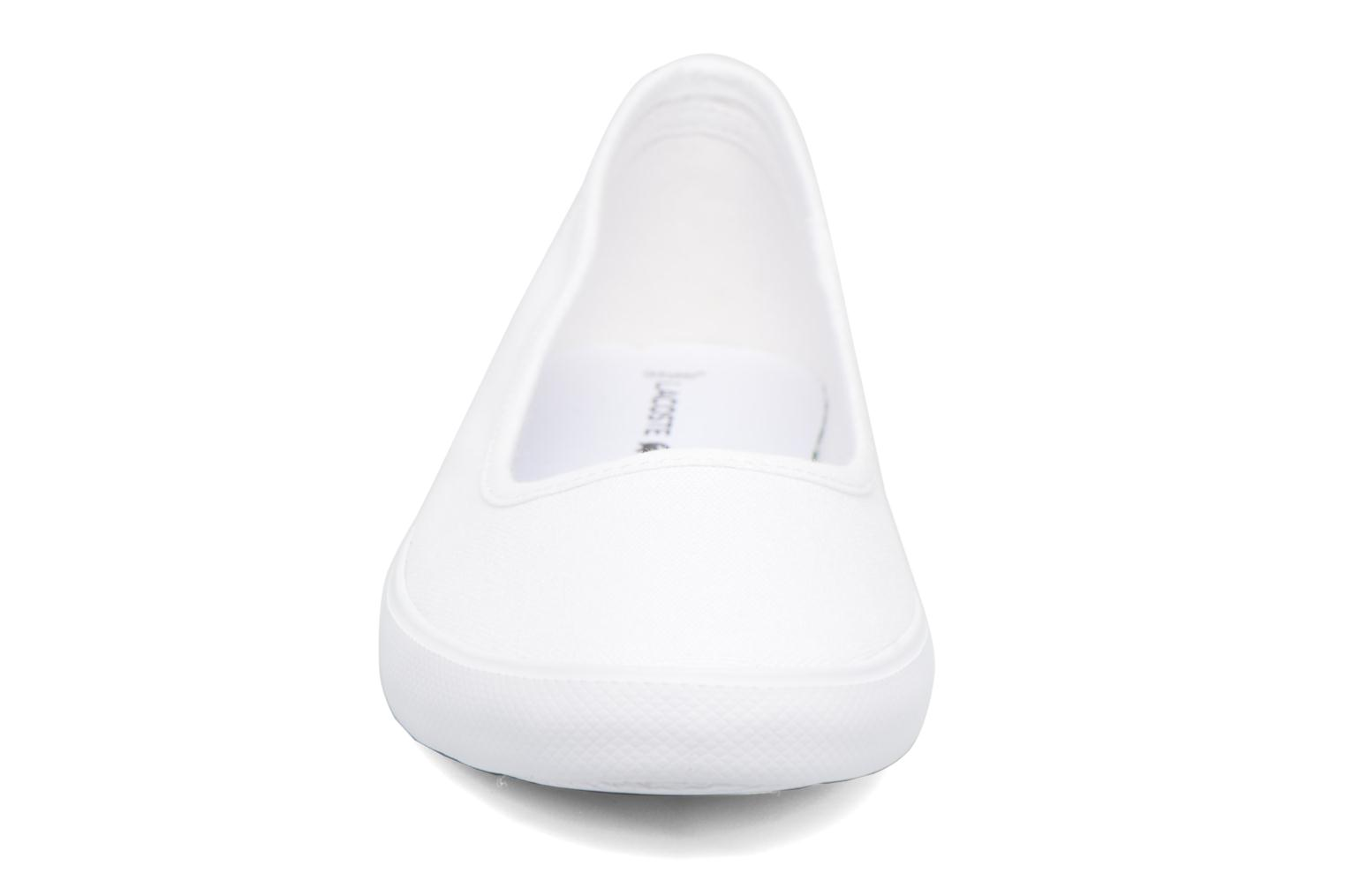 Ballet pumps Lacoste Marthe Bl 1 White model view